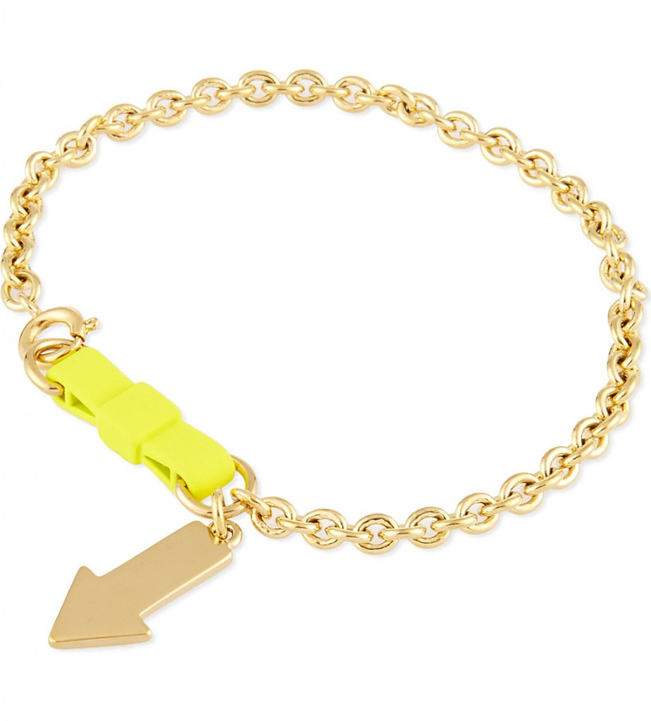 MARC BY MARC JACOBS Lost & found yellow arrow bracelet £40 with offer