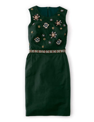 Embellished Floral Dress WH706 (Was £189.00 ) now £141.75 click to visit Boden