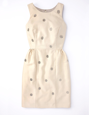 Embellished Spot Dress WH707 (Was £179.00 ) now £134.25 click to visit Boden