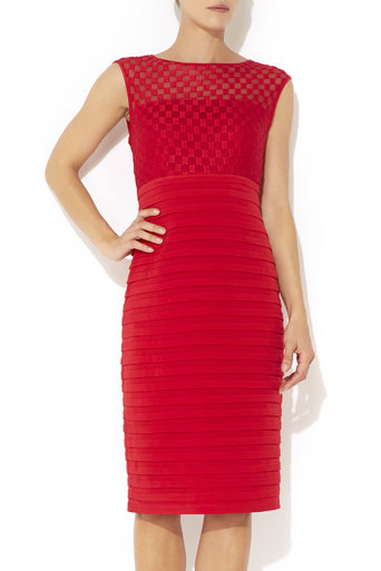 Red Square Shutter Dress     Price: £65.00 click to visit Wallis