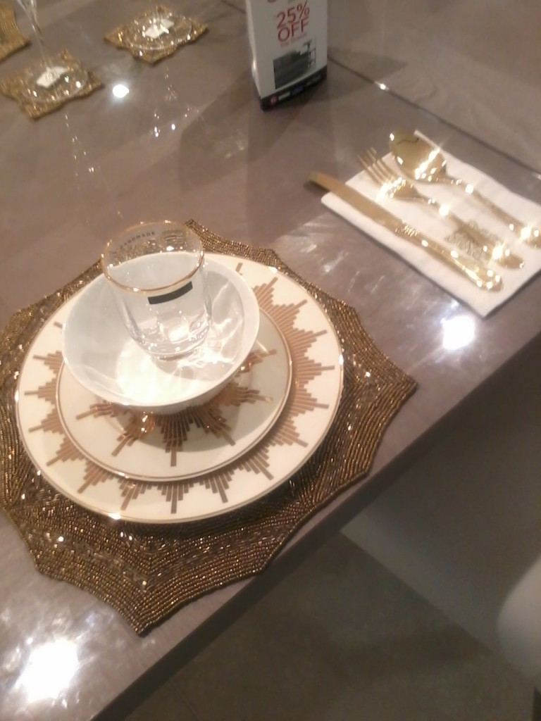 An amazing table setting from Biba