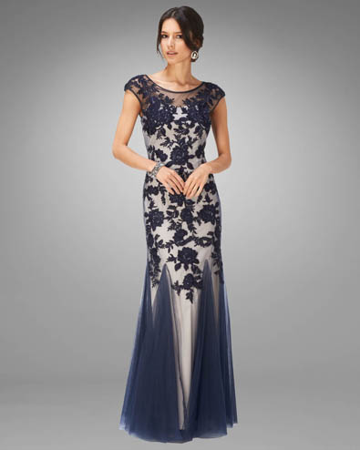 Rita Tulle Full Length Dress £295.00 click to visit Phase Eight