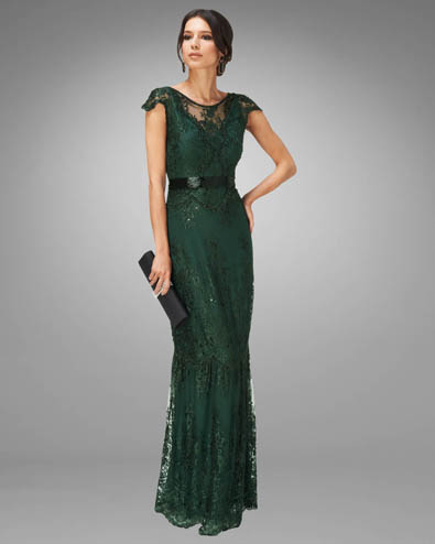 Cindy Lace Full Length Dress £350.00 click to visit Phase Eight