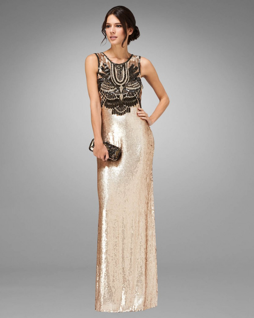 Clara Embellished Full Length Dress £595.00 click to visit Phase Eight