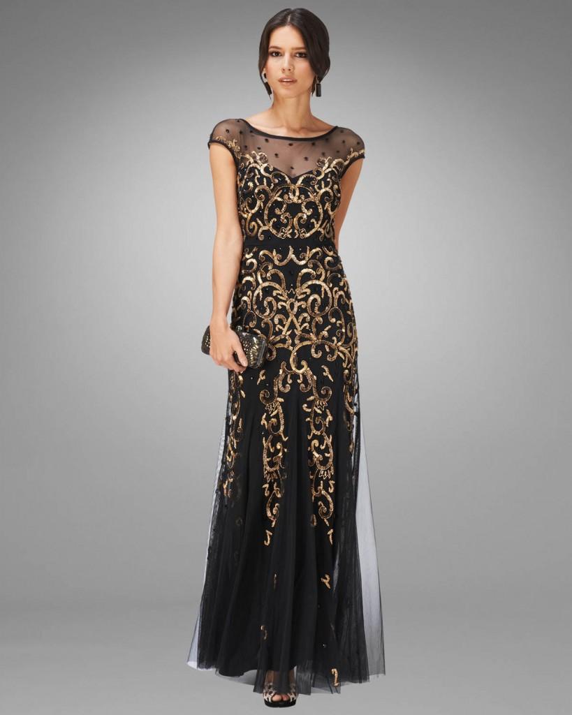 Nina Embellished Full Length Dress £395.00 click to visit Phase Eight