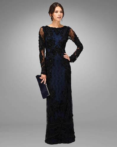 Irina Tapework Full Length Dress £350.00 click to visit Phase Eight