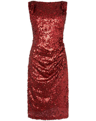 Angele Sequin Dress £150.00 click to visit Phase Eight