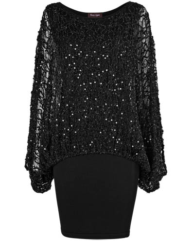 Serrina Sequin Knit Dress £99.00 click to visit Phase Eight