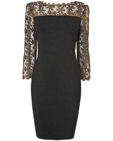 Suzy Foil Print Dress £99.00 click to visit Phase Eight