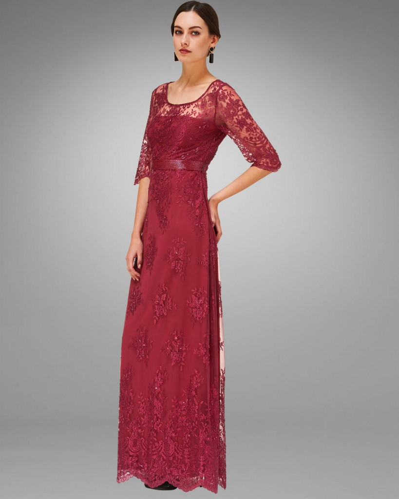 Selena Lace Beaded Full Length Dress £350.00 click to visit Phase Eight