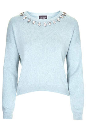Enamel Crystal Sweat     Was £46.00     Now £30.00 click to visit Topshop
