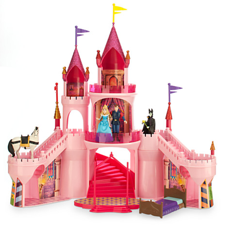 Sleeping Beauty Deluxe Castle Playset £50 click to visit The Disney Store