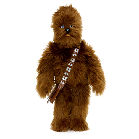 Chewbacca Medium Soft Toy £20 click to visit The Disney Store
