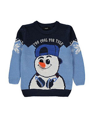 Christmas Snowman Jumper from £8.00 click to visit Asda George