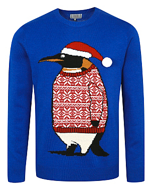 Christmas Penguin Jumper £12.00 click to visit Asda George