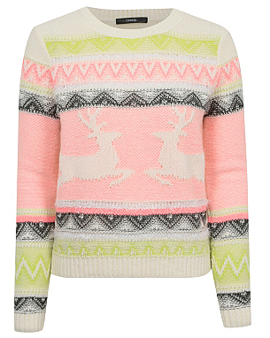 Fairisle Reindeer Jumper £16.00 click to visit George at Asda