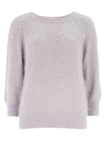 Lilac Textured Stitch Jumper     Price: £25.00 click to visit Dorothy Perkins