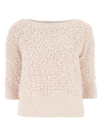 Peach Shaggy Knit Jumper     Price: £26.00 click to visit Dorothy Perkins