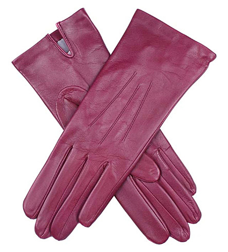 DENTS Classic silk-lined leather gloves £67 click to visit Selfridges