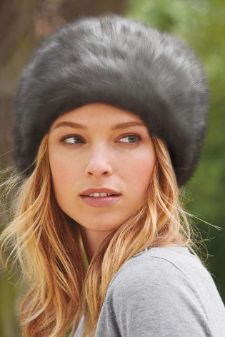 Faux Fur Cossack Style Hat £12 click to visit Next