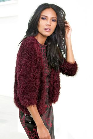Faux Fur Shrug £28 click to visit Next