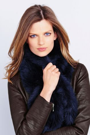 Faux Fur Scarf £20 click to visit Next