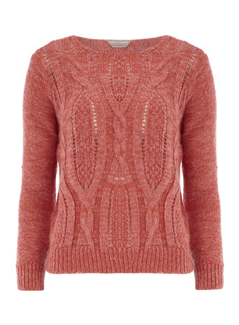 Petite cable front jumper     Price: £20.00 click to visit Dorothy Perkins