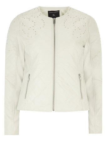 Neutral Embellished Jacket     Was £55.00     Now £38.50 click to visit Dorothy Perkins