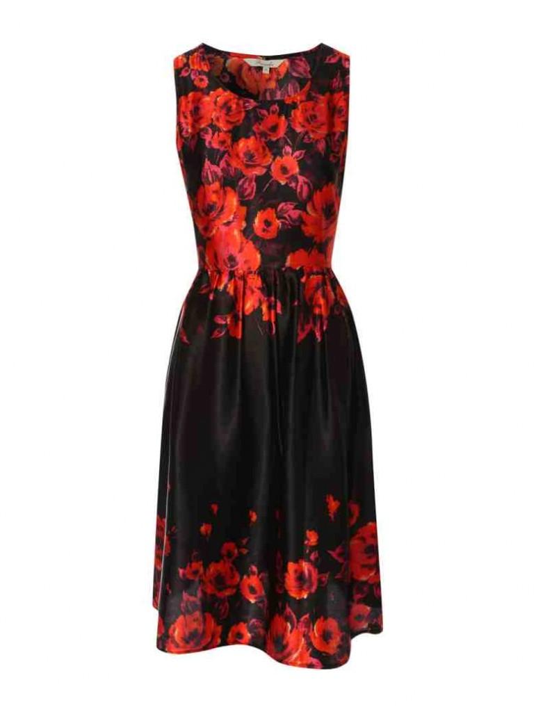 Womens Print Prom Dress £22 click to visit Peacocks