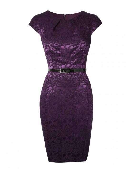 Womens Jacquard Dress £25 click to visit Peacocks