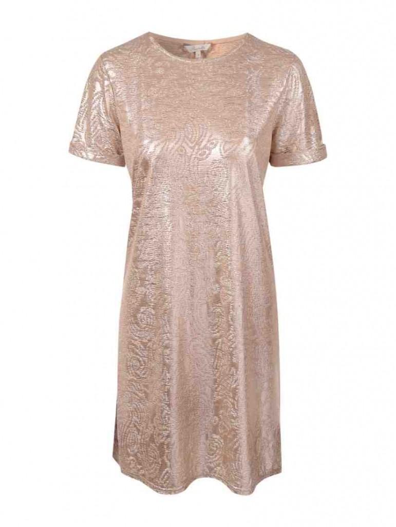 Womens Evie Metallic Shift Dress £20 click to visit Peacocks