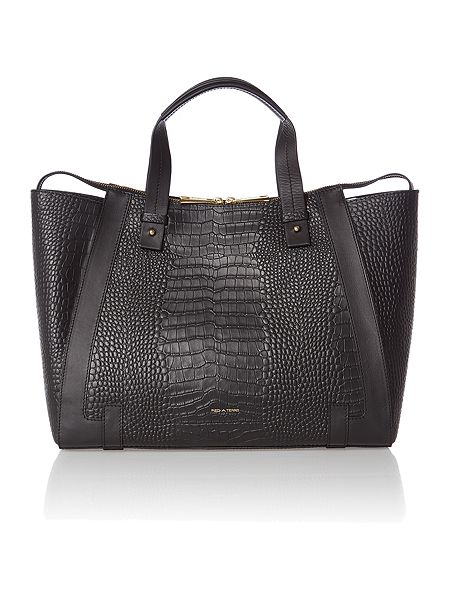 Pied a Terre Leather Large adeline tote bag £79.50 click to visit House of Fraser