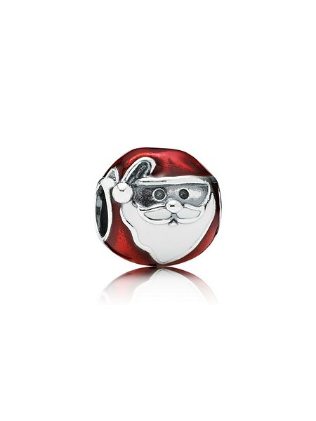 Pandora Jolly father christmas charm £45 click to visit House of Fraser