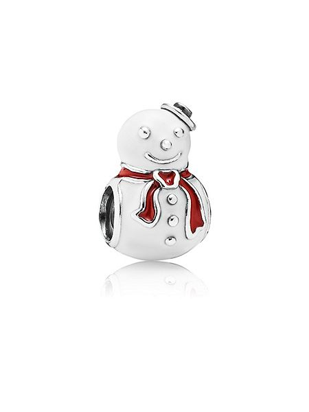Pandora Happy snowman charm £45 click to visit House of Fraser