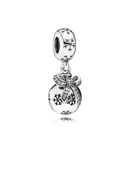 Pandora Christmas bauble pendant charm £50 click to visit House of Fraser