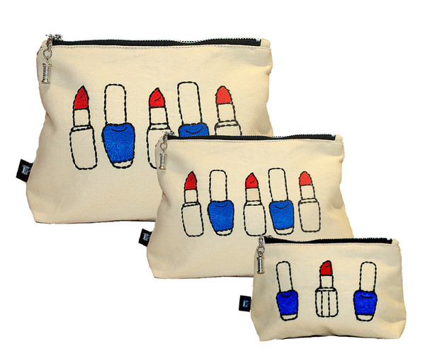 London Beauty Queen Make-Up Bag - Set of three £48.00 click to visit Sew Lomax