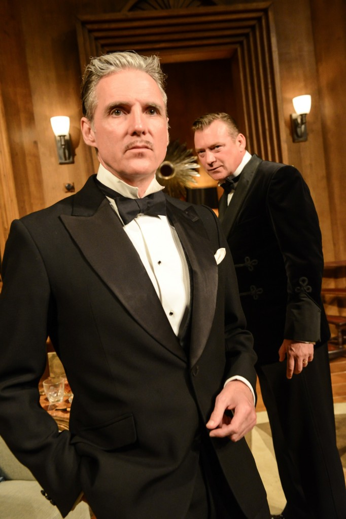 Michael Praed & Colin Buchanan in Dangerous Corner c Robert Day