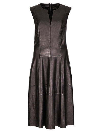 PER UNA Speziale Leather Skater Dress T626073H     £299.00 click to visit Marks and Spencer