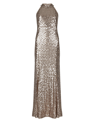 M&S COLLECTION New Sequin Embellished Maxi Dress T427025     £150.00 click to visit Marks and Spencer
