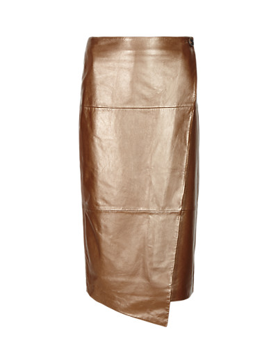 AUTOGRAPH New Leather Wrap Skirt T508469     £199.00 click to visit Marks and Spencer