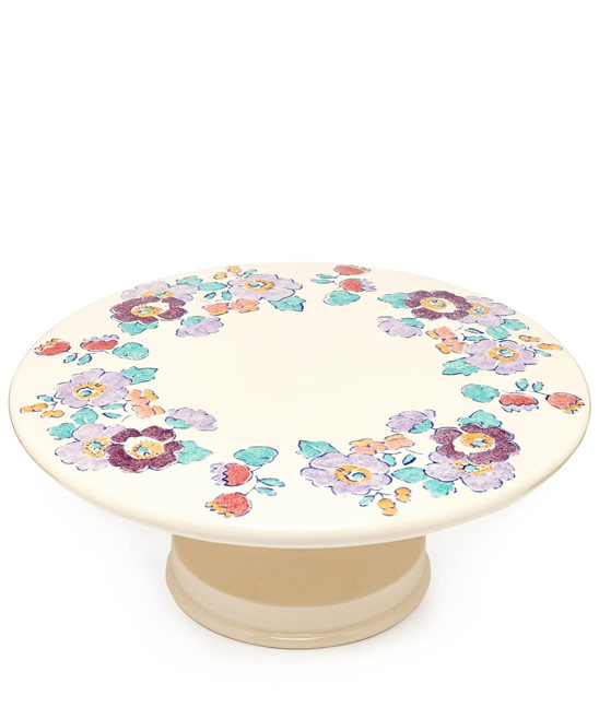 Flowers of Liberty Betsy Liberty Print Cake Stand £69.95 click to visit Liberty London