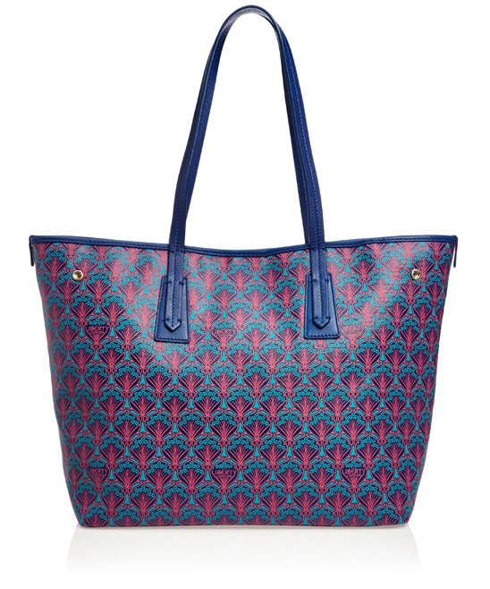 Liberty London Blue Liberty London Little Marlborough Small Tote Bag £295 click to visit Liberty London