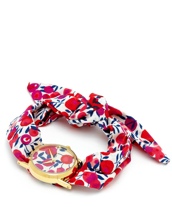 Flowers of Liberty Wiltshire Liberty Print Knot Watch £59.95 click to visit Liberty London