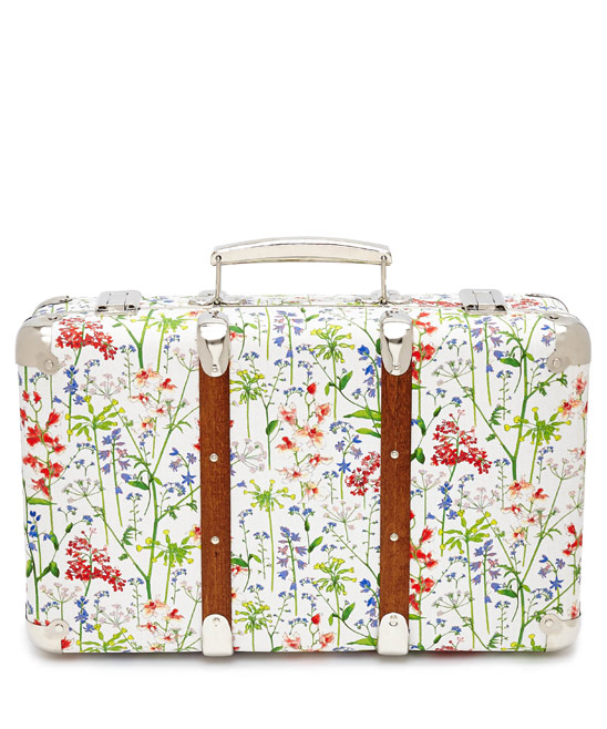 Flowers of Liberty Theodora Liberty Print Mini Suitcase £65.00 click to visit Liberty London