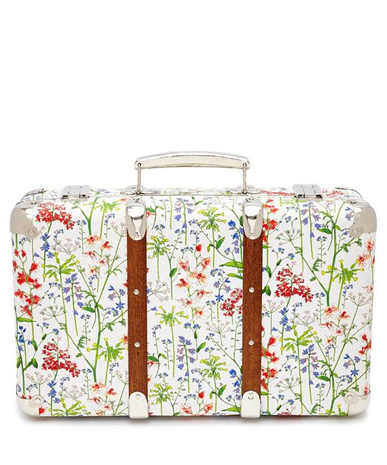Flowers of Liberty Theodora Liberty Print Mini Suitcase £65.00 click to visit Liberty London