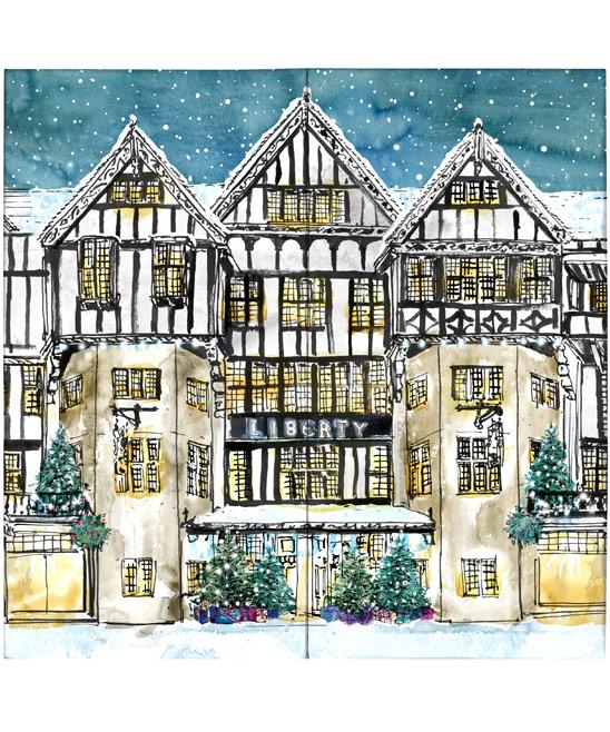 Liberty Print Christmas Beauty Advent Calendar £149.00 click to visit Liberty London