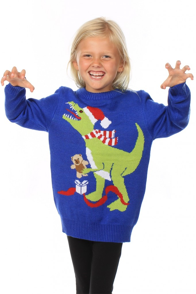 Youth T-Rex Jumper £29.95 click to visit Tipsy Elves
