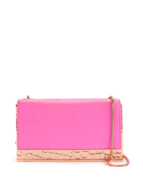 ELISE Leather box clutch     £149 click to visit Ted Baker