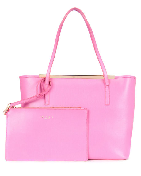 ISBELL Leather Crosshatch shopper     £149 click to visit Ted Baker