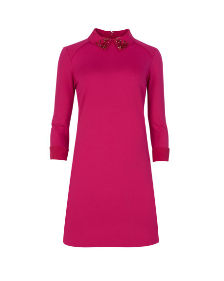 EELAH Embellished collar dress     £139 click to visit Ted Baker